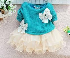 ready for shipping newborn 0 3 months aqua blue dress