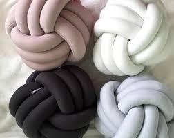 knot pillows knot pillow etsy