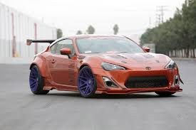 subaru brz vs scion fr s supercharged forgestar rocket bunny widebody scion fr s scion fr