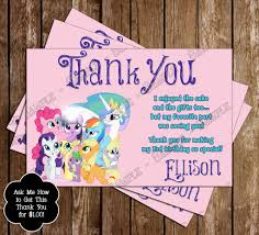 goody u0027s black friday 2013 my little pony photo invitations ideas personalised my little