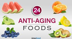 24 best anti aging foods for glowing skin timeshood
