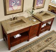 Double Vanity Cabinet Silkroad Modular Bathroom Vanity Hyp 0217 92 Kashmir Granite Top