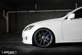 white lexus black wheels lexus is250 velgen wheels vmb5 matte gunmetal