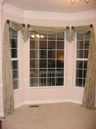Kitchen Bay Window Curtain Ideas Kitchen Bay Window Curtains Inspiration Mellanie Design