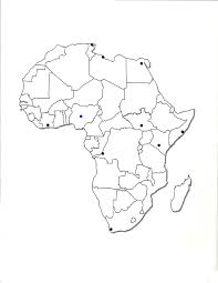 africa map drawing blank political map of africa my showy maps eaglee me