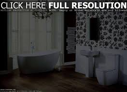 bathroom black and white bathroom wallpaper interesting cool
