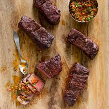 grilled boneless short ribs with argentine style pepper sauce