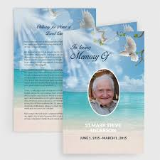 funeral programs printing affordable printing and copies funeral programs