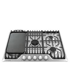 Frigidaire Downdraft Cooktop Frigidaire Professional 30 U0027 U0027 Gas Cooktop With Griddle Stainless