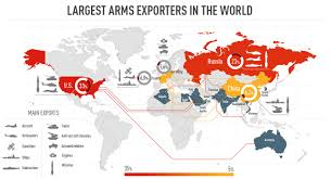 Top Spot Maps Russia And The U S Hold Onto Top Spots For International Weapons