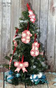 peppermint ornaments diy ornaments easy peasy