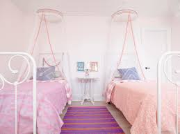 canopy twin beds for girls photo page hgtv