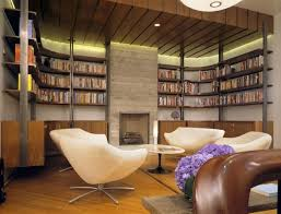 Decorations   Cool Home Library Design Ideas Of Home Library - Home office library design ideas