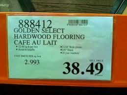 costco costco golden select hardwood oak 3 1 4 wide 3 sq