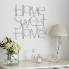 sweet home metal wall art grahambrownus