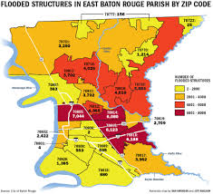 Louisiana Map Of Parishes by Which Baton Rouge Zip Codes Were Hit Hardest New Data Lends Scope