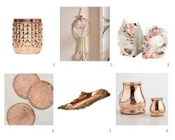 a feminine touch with rose gold u2014 a west nest