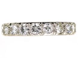 eternity ring platinum diamond eternity ring the antique jewellery