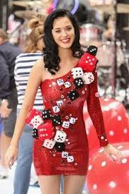 katy perry costume dice dress katy perry las vegas themed katy perry