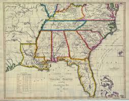 usa map south states map of southeastern united states of america ambear me