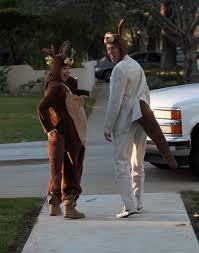 Kangaroo Halloween Costumes Alyson Hannigan Family Celebrity Halloween Costumes