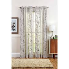 French Pole Curtain Rod by Better Homes And Gardens Curtains U0026 Window Treatments Walmart Com