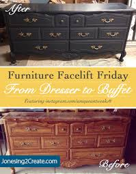 dressers black friday furniture facelift friday ugly dresser turned gorgeous buffet