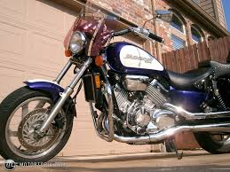 honda magna 1995 honda magna deluxe v45 purple u0026 pearl white id 17461