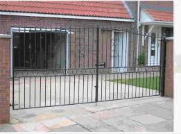 Front Gate Home Decor Custom Rod Iron Gates U2013 Outdoor Decorations