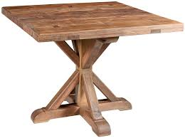 reclaimed wood square kitchen table ra9013 dining tables