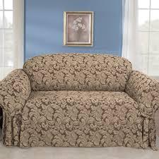 Surefit Sofa Covers by Sure Fit Scroll Classic Box Cushion Sofa Slipcover U0026 Reviews Wayfair