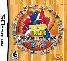amazon com top trumps nba all stars nintendo ds video games