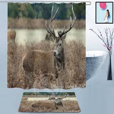 Whitetail Deer Shower Curtain Online Buy Wholesale Shower Curtains Sale From China Shower