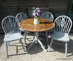 round pine dining table solid pine round kitchen dining table with 4 chairs revival designs