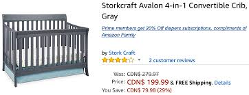 Stork Craft Tuscany 4 In 1 Convertible Crib by Amazon Crib Coupon Baby Crib Design Inspiration