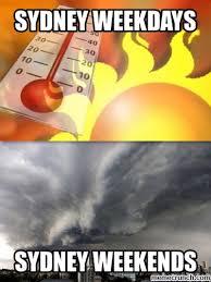 Sydney Meme - weather meme