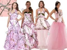 pink camo wedding gowns camo wedding dresses camo bridesmaid dresses
