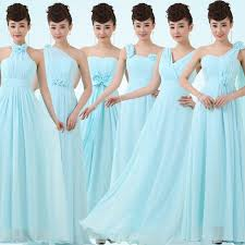 find more information about blue long bridesmaid dress chiffon