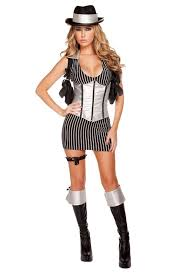 Woman Gangster Halloween Costumes 33 Mafia Images Woman Costumes Mafia