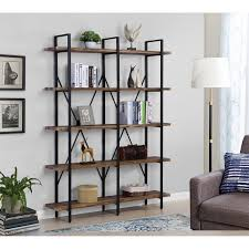 what of wood is best for shelves best quality furniture 5 tier grey metal frame with thick wood shelves bookcase