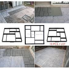 Concrete Patio Stone Molds by Best Reusable Plastic Brickform Stone Mold For Garden Concrete