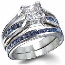 thin blue line wedding band sapphire wedding rings 4 thin blue line wedding ring sets 1824