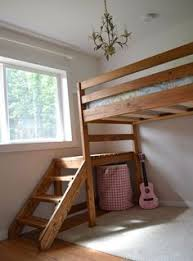 Loft Bed Plans Free Full by Loft Bed Plans Full Size Loft Bed Do It Yourself Home Projects