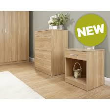Oak Effect Bedroom Furniture Sets Panama Oak Effect 4 Piece Bedroom Furniture Set