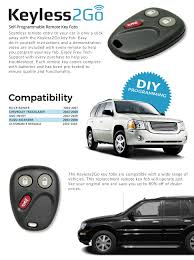 type of battery for lexus key fob amazon com keyless2go keyless entry car key replacement for