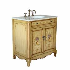beautiful vintage bathroom vanity units with wooden cabinets using