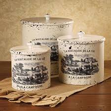 unique kitchen canisters sets awesome country kitchen canister sets 28 images set of 3 rustic