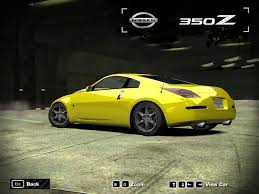 nissan 350z skin from polis need for speed most wanted nissan 350z 2005 nfscars