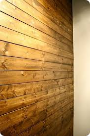 plank wall using wood planks from lowes they come in packages