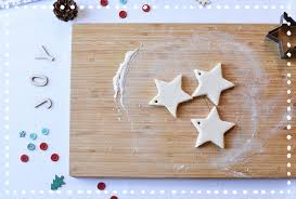 how to make salt dough ornaments with just 3 ingredients shutterfly